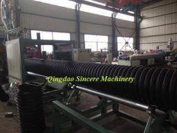 Экструзионная линия для спиральновитых гофротруб из полиэтилена для дренажа 3000мм