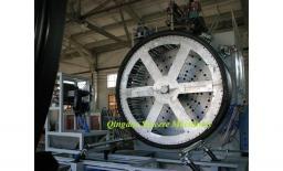 Экструзионная линия по производству спиральновитых ПЭ труб с полой стенкой 2200мм