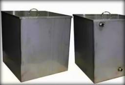 Бак прямоугольный из н/ж стали