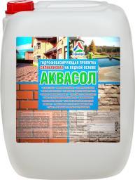 Аквасол — водооталкивающая пропитка для бетона и кирпича (гидрофобизатор бетона), 20л