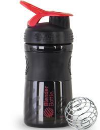 Шейкер Blender Bottle SportMixer черно/красный 591 мл