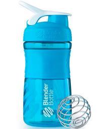 Шейкер Blender Bottle SportMixer голубой 591 мл
