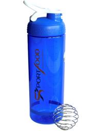 Шейкер Blender Bottle Sleek SPORTFOOD синий