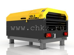Компрессорные станции винтовые типа KB 3/8, 5/10, 6/7 с приводом от дизельного двигателя