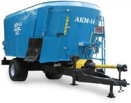 Смеситель - кормораздатчик АКМ - 14 (кормосмеситель, кормораздатчик, смеситель - кормораздатчик)