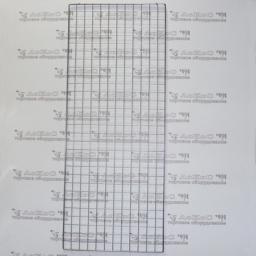 Сетка панель решетка торговая, крашеная