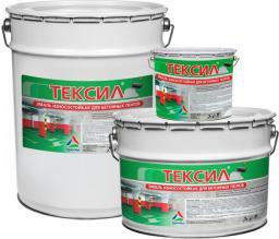 Тексил - краска для бетонных полов