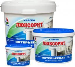 Люксорит — акриловая краска для стен и потолков