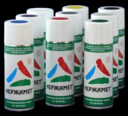 Нержамет-аэрозоль — краска аэрозольная для металла