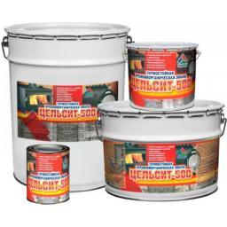 Цельсит-500 кремнийорганическая термостойкая эмаль