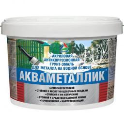 Акваметаллик - водная краска по металлу