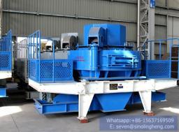Пескоструйная ударная дробилка VSI вертикальная шахтная дробилка машина для производства песка