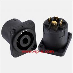 РазъемДинамика(Speaker Connector)SVP563S-M,25A,GOLD,4P Разъем Контакты с Покрытием из Золота