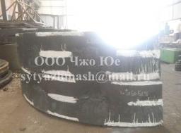Венец зубчатый 3Б79.09.09-0СБ, 23100кг, 35ХМЛ, применяется в приводе рудоразмольной мельницы ММС70х23