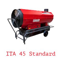 Тепловая пушка непрямого нагрева на жидком топливе ITA 45 Standard