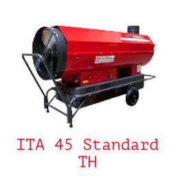 Тепловая пушка непрямого нагрева на жидком топливе ITA 45 Standard TH