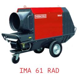 Тепловая пушка непрямого нагрева с надстроенной горелкой универсальная IMA 61 RAD