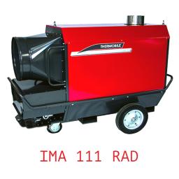 Тепловая пушка непрямого нагрева с надстроенной горелкой универсальная IMA 111 RAD