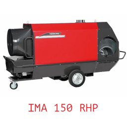 Тепловая пушка непрямого нагрева с надстроенной горелкой универсальная IMA 150 RHP
