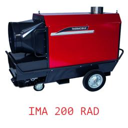 Тепловая пушка непрямого нагрева с надстроенной горелкой универсальная IMA 200 RAD