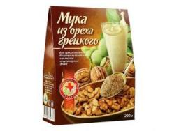 Мука из ореха Грецкого, 200 гр.
