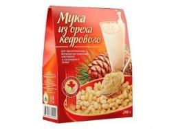 Мука из ореха Кедрового, 200 гр.