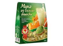 Мука из семян тыквы, 200 гр.