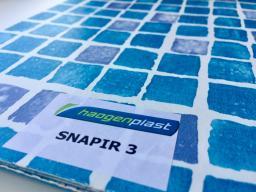 Плёнка пвх для бассейнов Shapir3