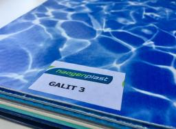 Плёнка пвх для бассейнов Galit 3