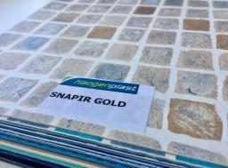 Плёнка пвх для бассейнов Shapir Gold