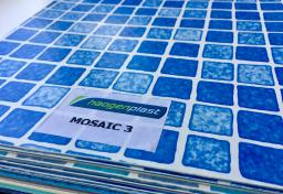 Плёнка пвх для бассейнов Mosaic 3