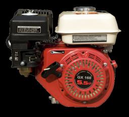 Двигатель GX 160 конусный вал для генераторов (длинна вала 7 см)