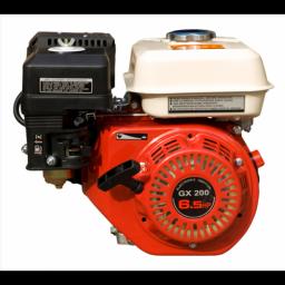Двигатель бензиновый GX 200 RE с редуктором и электростартером вал 20 мм