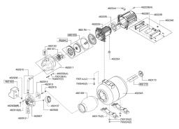 Кольцо уплотнительное мотопомпы Al-Co HW 601 (рис.460153)