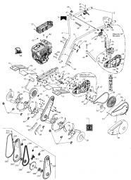 Вал культиватора Caiman Compact 40 MC (рис. 37)
