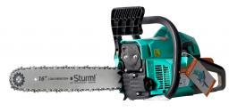 Бензопила Sturm! GC99372B, 1,9 кВт, 400 мм, усовершенствованный легкий старт, тормоз цепи, шаг 3/8 дюйма