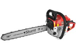 Бензопила Sturm! GC99521B, 2900 Вт, 450 мм.  шаг цепи 0,325, легкий старт! Тормоз цепи!