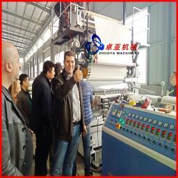 Линия для производству панелей искусственного мрамора