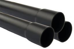 Труба пвх соединение клеевое 90 мм.