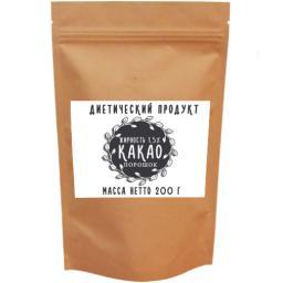 Какао-порошок «Мастер Слим» обезжиренный 1,5% 200гр