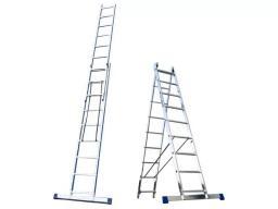 Алюминиевая Двухсекционная Лестница 5210 2Х10