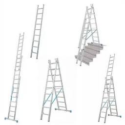 Алюминиевая Трехсекционная Лестница P3 9318 3Х18