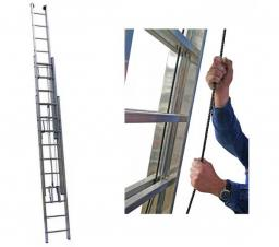 Алюминиевая Трехсекционная Лестница 3318 3Х18