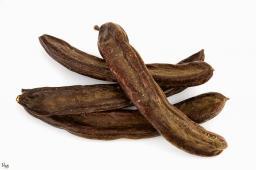 Плоды рожкового дерева, кэроб цельный Кипр, 100г