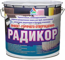 Радикор - эмаль для радиаторов и батарей отопления с эффектом