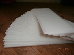 Листы ПЭ, толщина 2 - 30 мм.