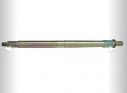 Вал разбрасывателя песка КО-815М.42.12.000 (Вертикальный вал под гидромотор и разбрасывающий диск)