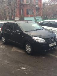 Аренда автомобиля под выкуп Renault Sandero с пробегом