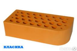 Кирпич керамический фигурный вишневый ЦФ-1 М150