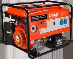 Бензиновый генератор УГБ-5000Е